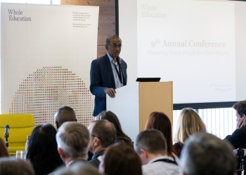 Venki Ramakrishnan at Whole Education conference