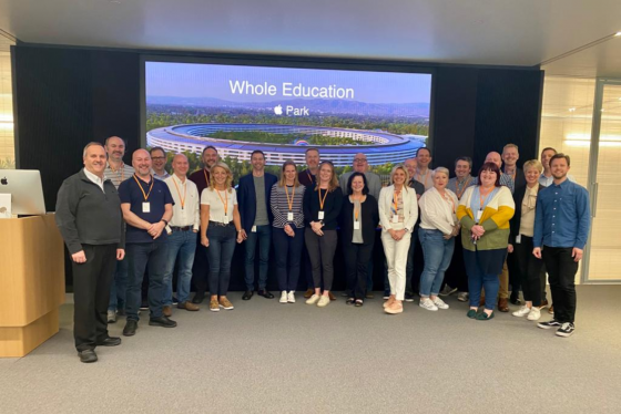 Apple International Leaders Whole Education Trust leaders cohort